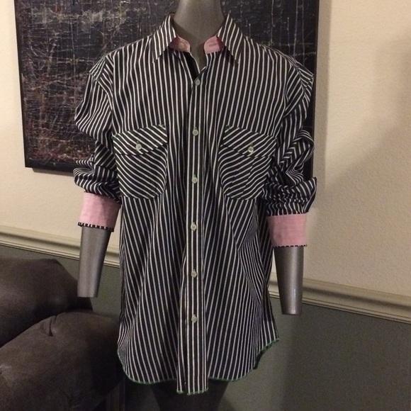 Arnold Zimberg Other - Arnold Zimberg Long Sleeve Striped Shirt